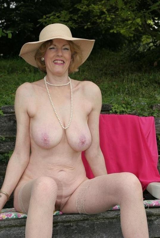 Granny hard nipples