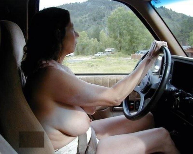 huge boob drivers amateur